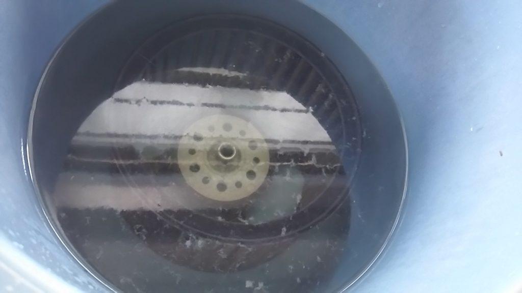 洗剤にドボ付け