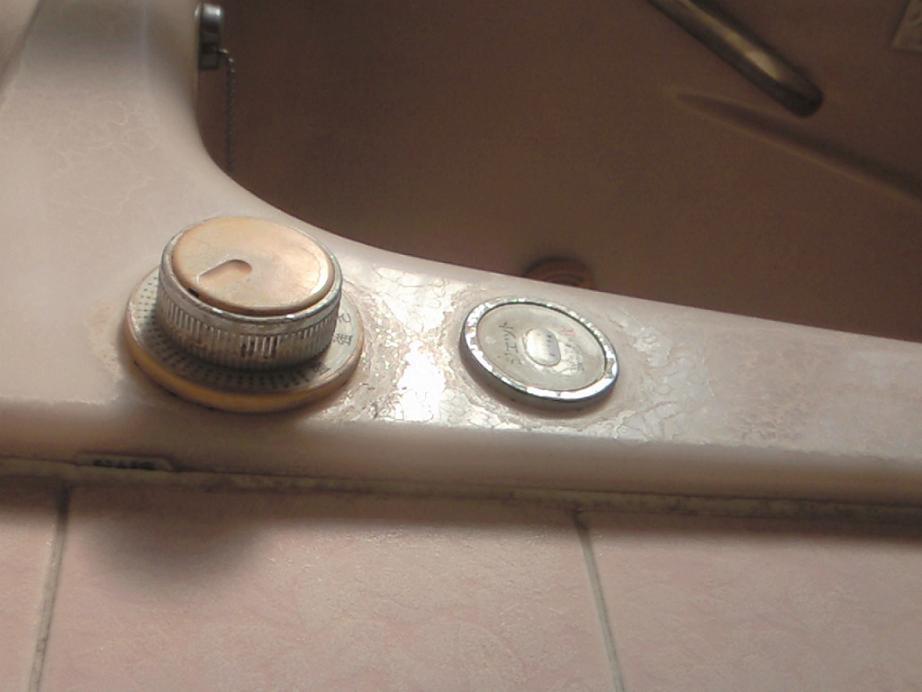 浴室の水垢