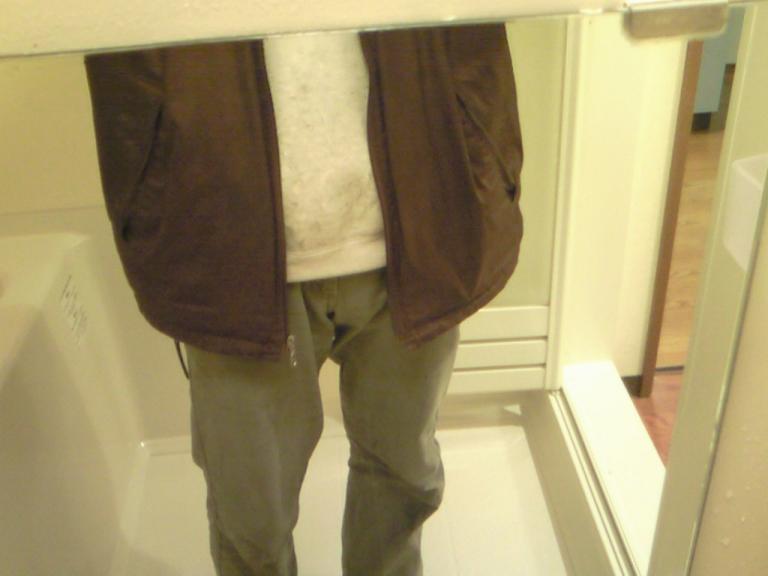 つるつるになった浴室の鏡の汚れ