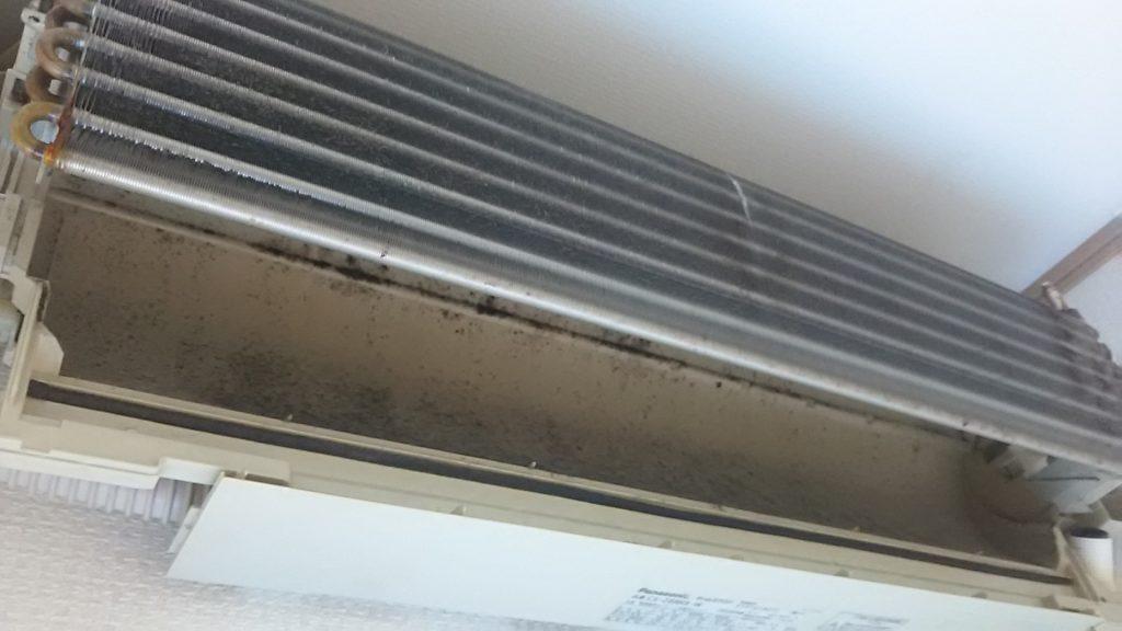 エアコン本体の汚れ