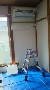 エアコンに必要な作業スペース