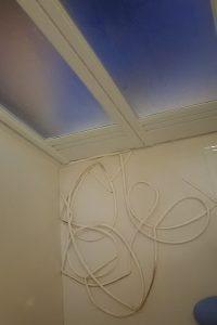 浴室ドアのゴムパッキン