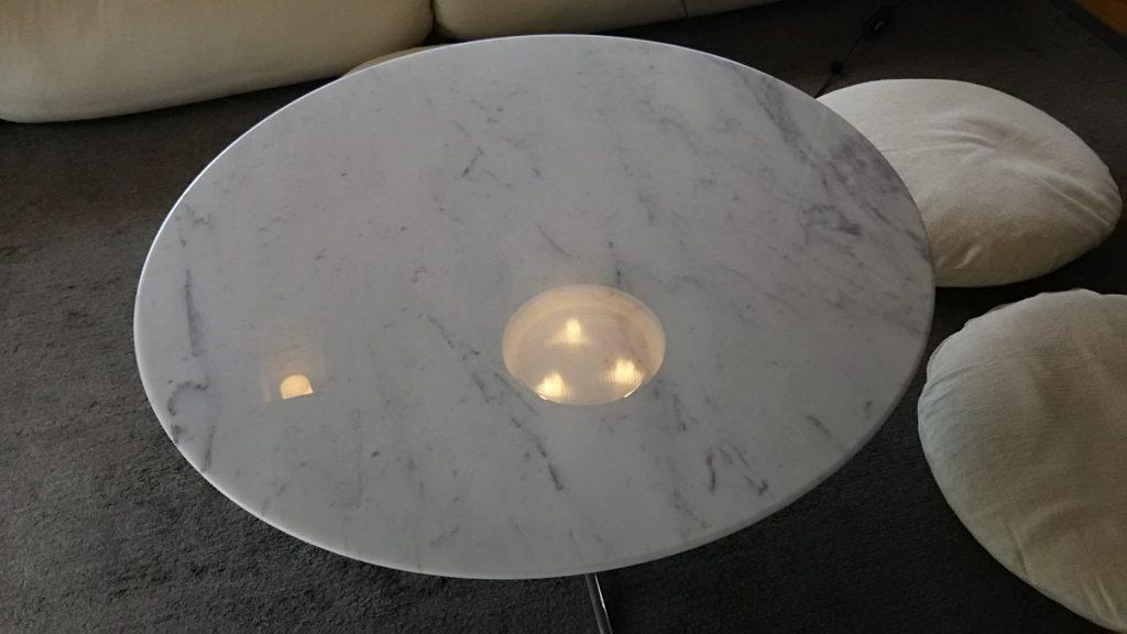 大理石テーブル作業完了