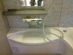 浴室のカウンター