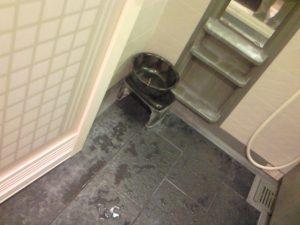 浴室の石鹸かす
