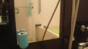キレイになった浴室の鏡