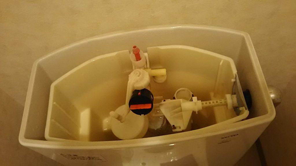 キレイになった手洗いタンク内部 ハウス エアコン 分解 クリーニング 愛知 名古屋 岐阜 江南 清須 春日井 小牧 一宮