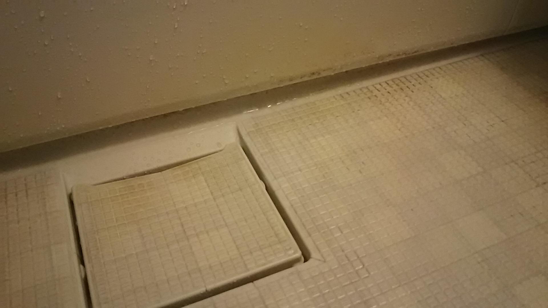 浴室の石鹸かす汚れ