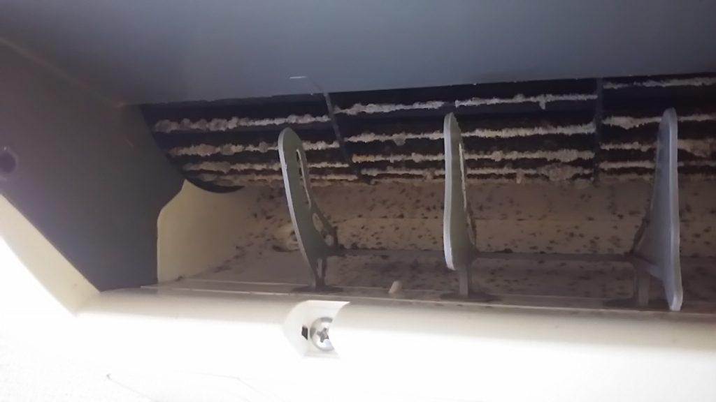 エアコン吹き出し口の写真
