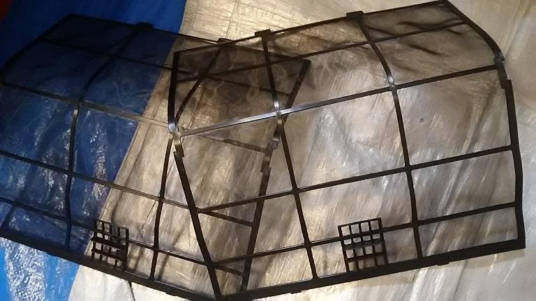 エアコンフィルターの汚れ除去