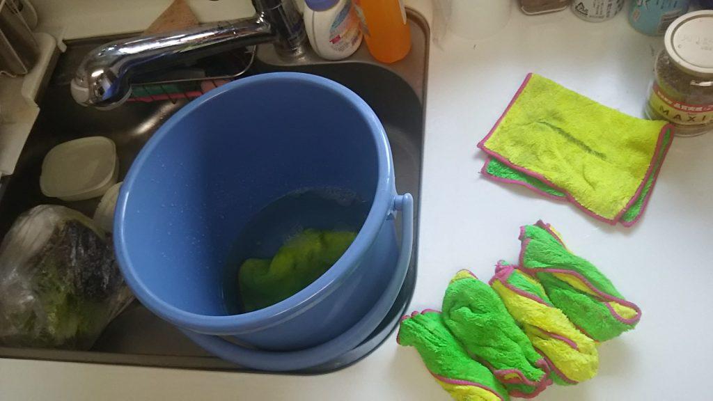 100円均一ダイソーのマイクロファイバークロス おすすめ 雑巾 台拭き
