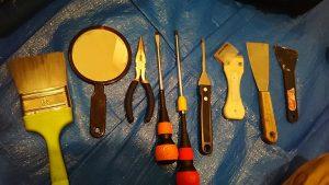 ハウスクリーニングで使用する道具