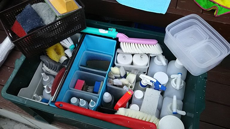 プロのお掃除道具