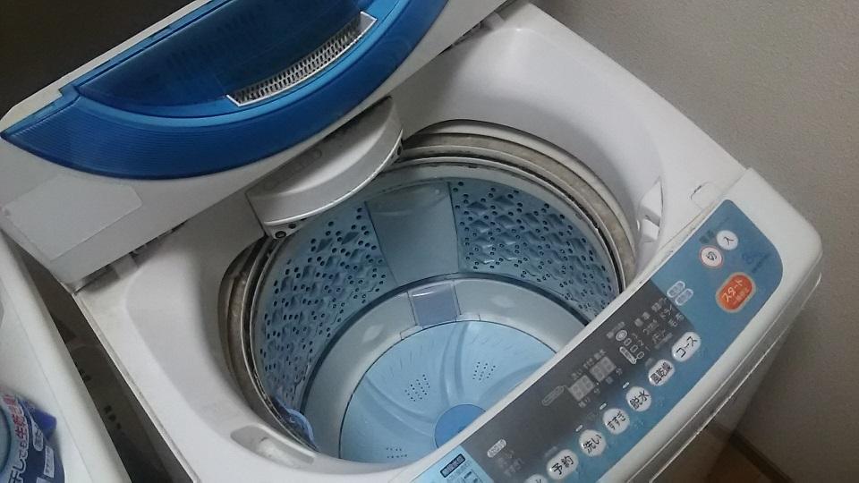 洗濯機 洗濯槽 分解クリーニング洗浄