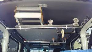 Nバン カスタム 荷台 広さ スペース ハウス エアコン 乗り心地